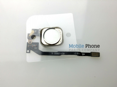 Apple iPhone 5S Home Button Flex Complete - White